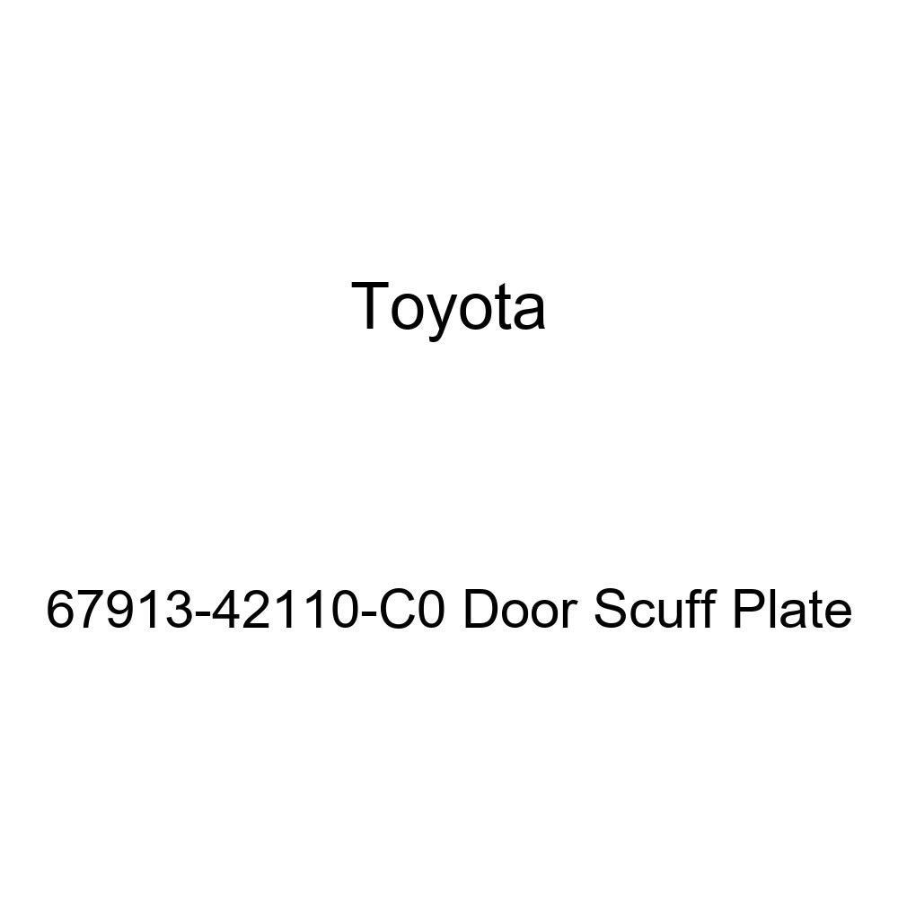 TOYOTA Genuine 67913-42110-C0 Door Scuff Plate
