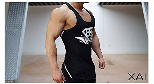 Amazon.com : Body Engineers Gym tank top fitness training new collection 2016 (Black, M) : Sports & Outdoors