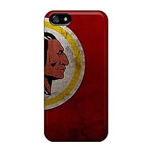 Marycase88 Iphone 5/5s Anti-Scratch Cell-phone Hard Covers Custom Nice Washington Redskins Series [JbW14766bnuf]