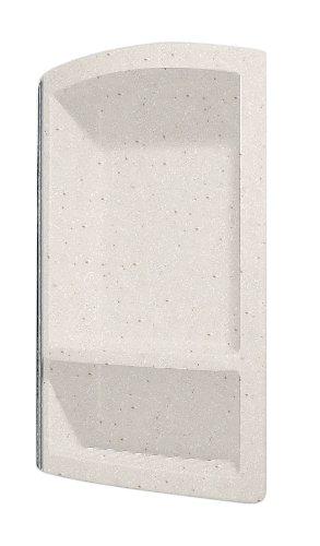 (Swanstone RS-2215-051 Recessed Shampoo Shelf, Tahiti Sand Finish)