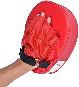 Boxing Mitts Training Target Focus Punch Pads Glove MMA Karate Muay Thai Kick