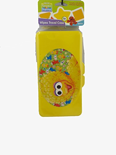 Big Bird Wipes Travel Case Sesame Street Beginnings