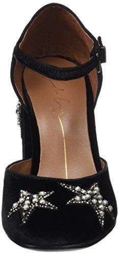 Black 001 Cruz Lola Toe Black Women's Closed Heels C4vzTw