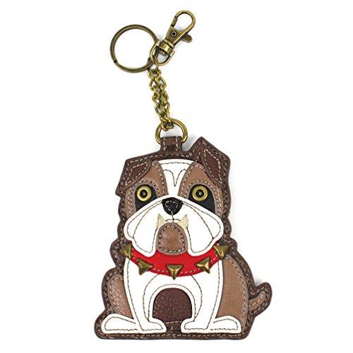 Chala Pal Bag Charm/ Key-Fob/ Coin Purse- Men's Best Friend Collection (BullDog)