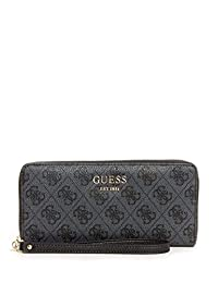 GUESS Vikky Large Zip-Around Wallet