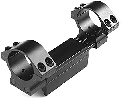 "30mm 25.4mm 1/"" Ring Rifle Scope Mount Dovetail 11mm /& 20mm Picatinny//Weaver Rail"