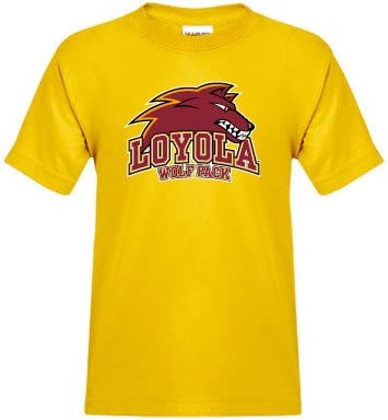 premium selection ea7cd 965b6 Amazon.com : Loyola New Orleans Youth Gold T Shirt 'Loyola ...