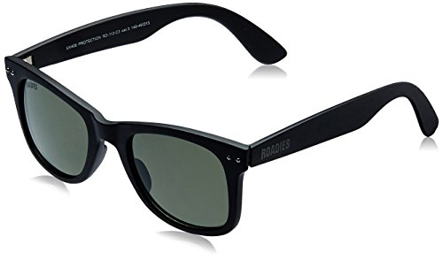MTV Roadies Wayfarer Sunglass (Matte Black) (RD-112-C3)