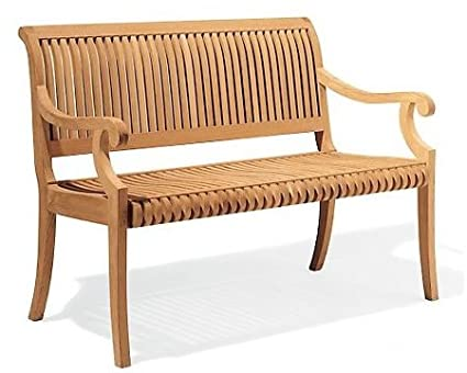 Surprising 5 Feet Grade A Teak Wood Outdoor Patio Bench Gv5Bench Caraccident5 Cool Chair Designs And Ideas Caraccident5Info