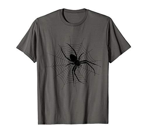 Kids Creepy Halloween Tshirt Spiderweb Easy Costume Idea