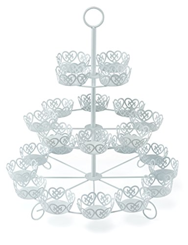 24 Count Cupcake Stand Holder Display by Cooking Upgrades