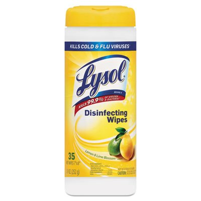 Lysol 4 in 1 Disinfecting Wipes-Citrus-35 (4in 1 Disinfecting Wipes)