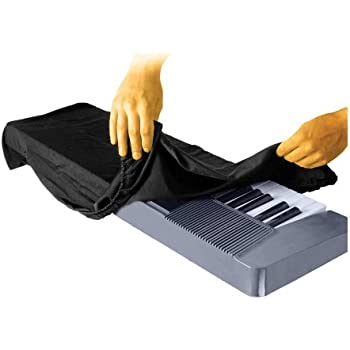 On Stage Keyboard Dust Cover for 61 or 76 Key Keyboards