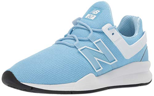 new balance Women's 247v2 Sneaker, Summer Sky/White, 8 B US