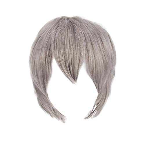 XILALU Multi Color Short Straight Hair Wig Anime Party Cosplay Full sell Wigs -