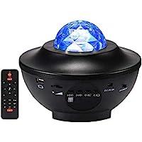 Projetor de Luz Musical LED Night Ocean Star