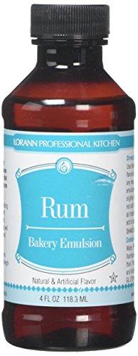 Rum Extract - LorAnn Oils Emulsion, Rum, 4 Ounce