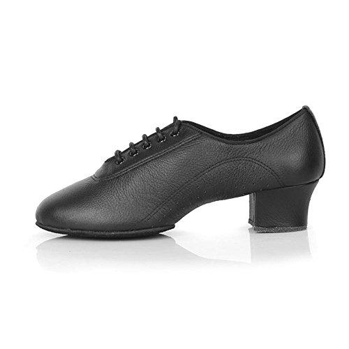 YFF Latin Dance Schuhe für Frauen Mädchen Damen Ballsaal modernen Tango Party Praxis 50402