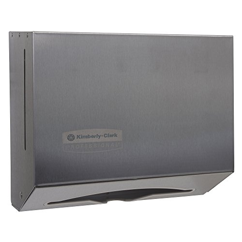 (Scottfold Compact Paper Towel Dispenser (09216), Small Towel Dispenser, Stainless Steel)