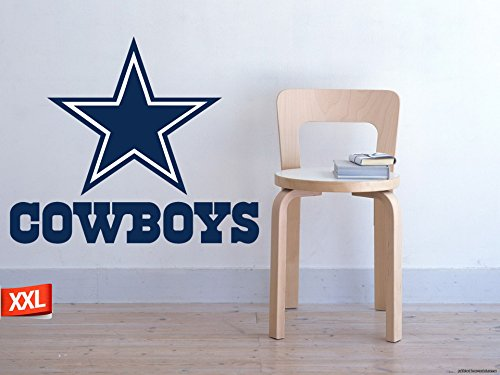 Full Color Dallas Cowboys decal, Full Color Dallas Cowboys sticker, Full Color Dallas Cowboys wall decal,Dallas Cowboys logo decal, NFL logo decal, Dallas Cowboys pf33 (52