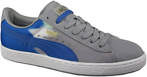 Puma Heren Basket Classic Hand Dye Fashion Sneakers Kalksteen Grijs / French 13 D (m) Ons