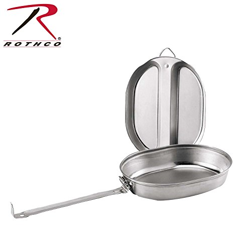 Rothco Gi Type Stainless Steel Mess Kit by Rothco