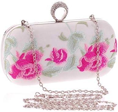 BAOLH Chain Shoulder Bag Womens Clutch Bag Purse Chain Bag Fashion Handbag Diamond Embroidery Cheongsam Evening Party Bag Hard Shell Clutches Fashion