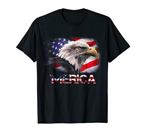 American Flag Eagle Tshirt USA Eagle T-Shirt