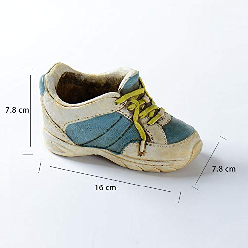 Sports Shoes Desgin Flower Pot Silicone Mold Home Decoration Silicone Pot Mold for Succulent Plants Flower DIY Craft Ceramic Clay Mould