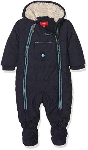 s.Oliver Baby-Jungen Schneeanzug mit Fleecefutter, Blau (Dark Blue 5874), 86