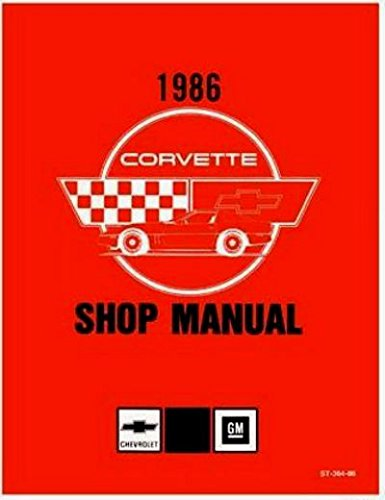 corvette factory service manual - 8