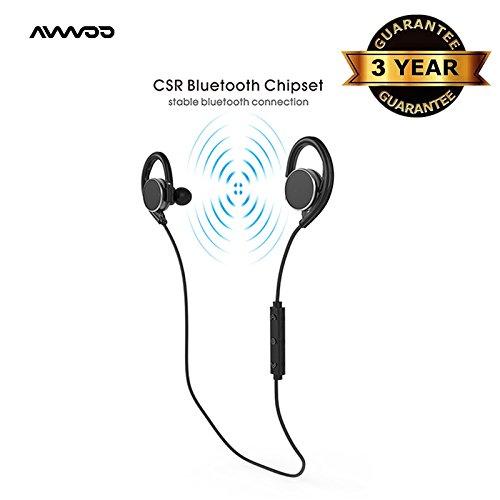 AVWOO Bluetooth Wireless Headphones Waterproof product image