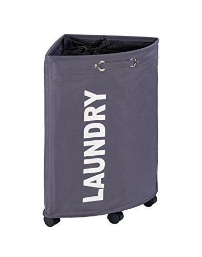 WENKO Tresco Laundry Bin, 13.21 gallon/13