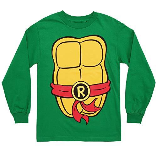 Teenage Mutant Ninja Turtles Costume Adult Long Sleeved T-Shirt - Large -