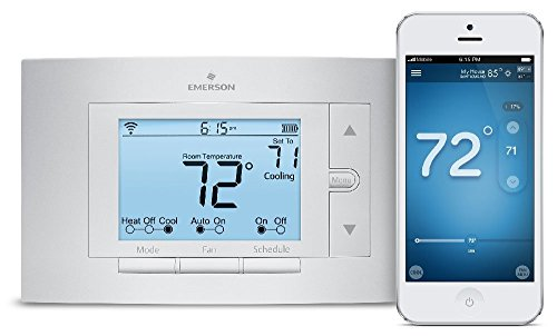 Sensi Smart Thermostat, Wi-Fi, UP500W, Works with Amazon Alexa