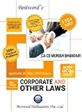 Munish Bhandari's Corporate And Other Laws Latest Edition For CA Inter New Syllabus May 2019 Exams