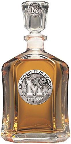 Memphis Tigers Capitol Decanter