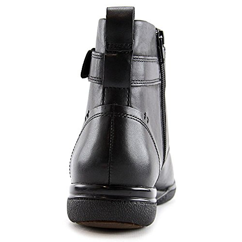 0 8 Closed Black Ankle Womens Fashion Toe Kearns CLARKS Leather Size admire RnPw6