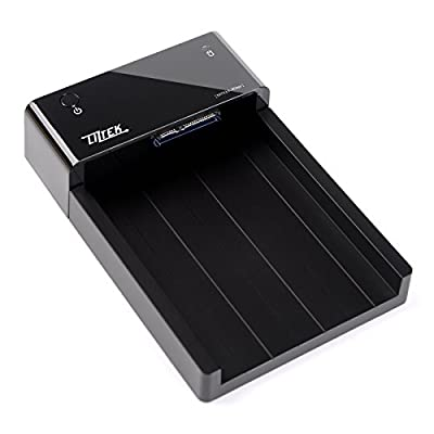Liztek HDDS1BS USB 3.0 Super Speed to SATA Single Bay External Hard Drive Docking Station for 2.5 and 3.5 inch Hard Drives from Liztek