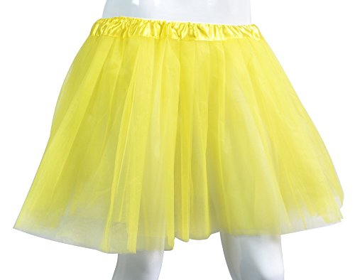Big Girls Tutu Skirt Classic 3 Layered Tulle Princess Ballet Dance Running Party Costume -