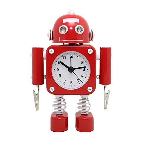 Betus Non ticking Robot Alarm Stainless product image