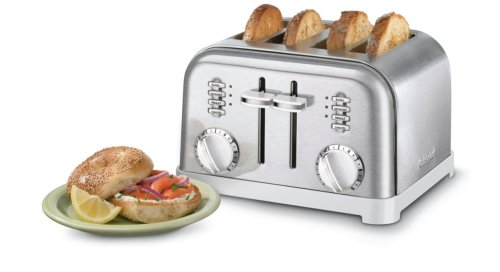 Cuisinart CPT-180W Metal Classic 4-Slice toaster, White - http://coolthings.us
