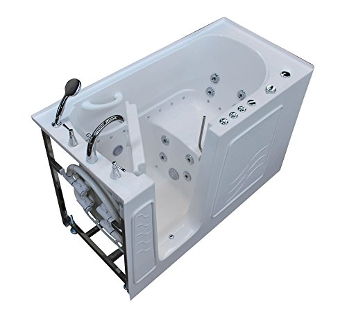 Walk-In 30 x 60 Left Drain Whirlpool & Air Jetted Walk-In Bathtub (60 X 30 Jetted Tub compare prices)