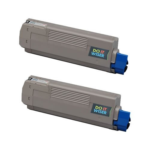 Do it Wiser Remanufactured Toner Cartridge For Okidata C610 C610n C610dn C610cdn C610dtn - 44315304 - 2 Pack