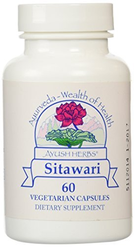 - Ayush Herbs - Sitawari 60 vcaps [Health and Beauty] by Ayush Herbs