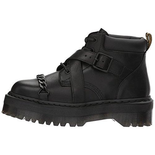 Dr.Martens Womens Beaumann Black Leather Boots 42 EU