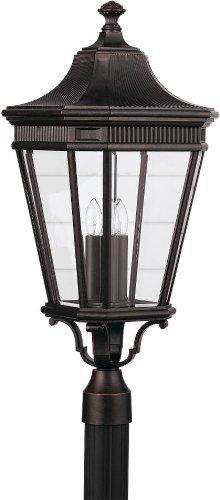 Outdoor Lantern String Lights Bronze - 9