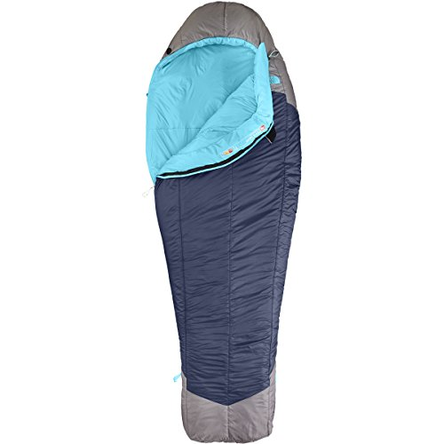The North Face Cat's Meow 20 Sleeping Bag - Women's (Blue Coral/Zinc Grey, Left Hand Long)