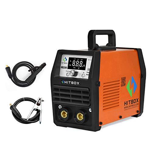 ARC Welder 200A Stick Welding Machine IGBT Digital Inverter Welder 220V DC Lift TIG Portable Welding Machine HITBOX