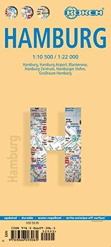 Download Laminated Hamburg Map by Borch (English Edition) pdf epub